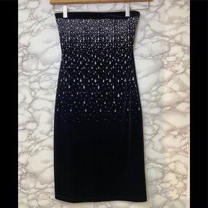 Vintage Velvet W/Sparkly Drops Dress
